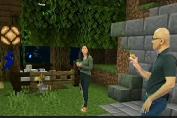 Mixed Reality Minecraft