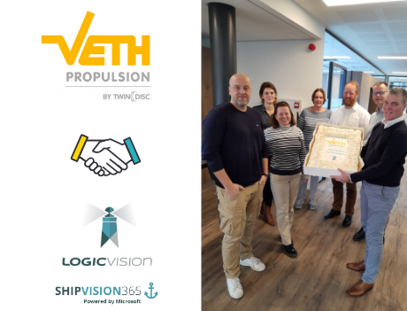 Veth Propulsion live with ShipVision 365