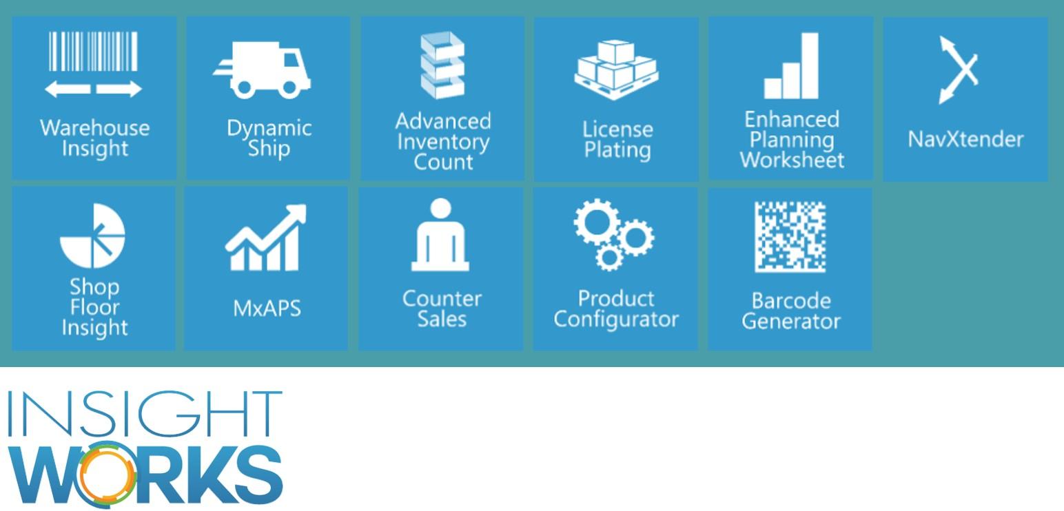 Overzicht van Insight Works Modules voor productie - Logic Vision
