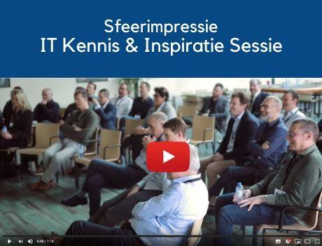 Sfeerimpressie van de IT Kennis- en Inspiratiesessie